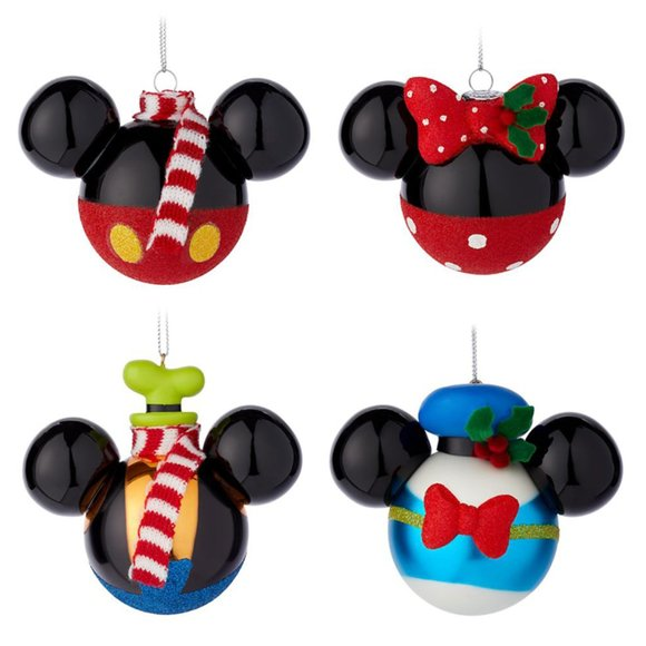 Disney Parks Mickey Icon Ear Hat Goofy Christmas Ornament Goofy NWT